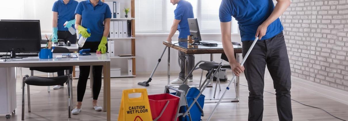 Nettoyage de locaux entreprise